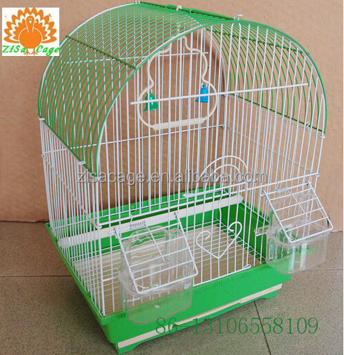 green color 30x23x39cm bird breeding cage cheap price
