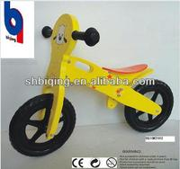 wooden balance bike baby bicycle