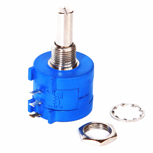 ROHS 10 turn potentiometer,b103 potentiometer ,dual gang potentiometer
