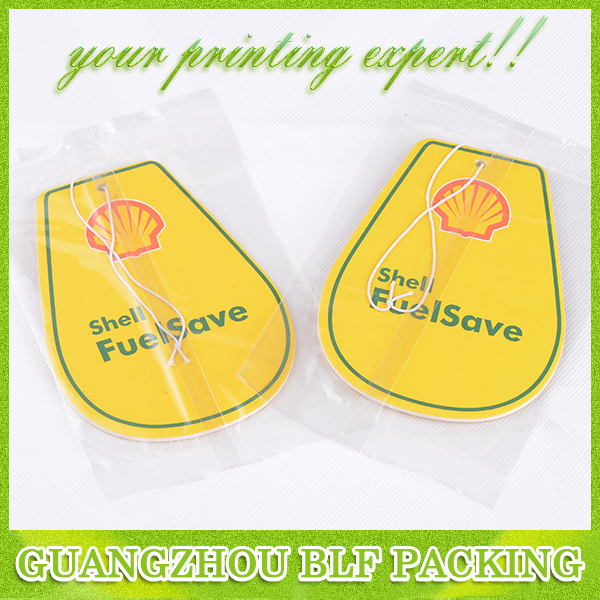Eco-friendly PP cotton material classic car air freshener
