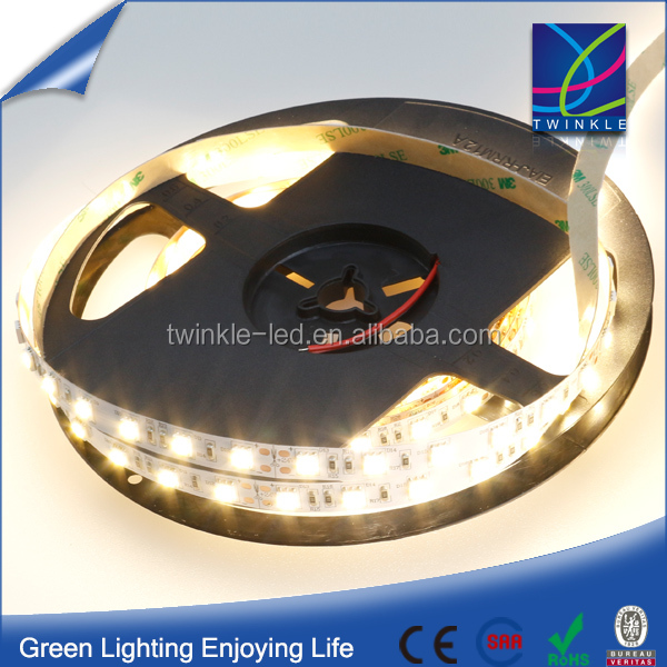 Flexible 5050 DC12/24V 60LEDS/M LED Strip Wattage 14.4M/W