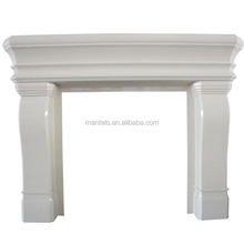 Modern Mantel Shelf Portland Artificial Stone Fireplace Surround Large