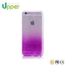 High quality soft mobile phone cover printed water drop 3d silicone case for iphone 6