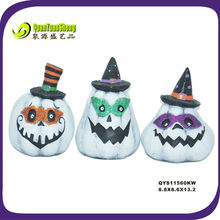 resin material halloween craft pumpkin