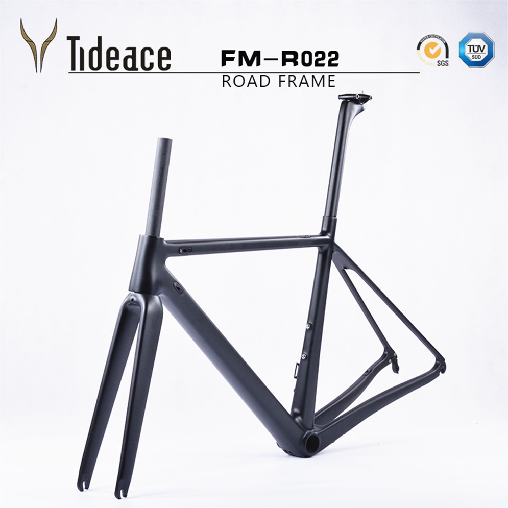 2017 Tideace New Carbon Bike Frame R22 48cm/51cm/54cm for carbon bikes made in china