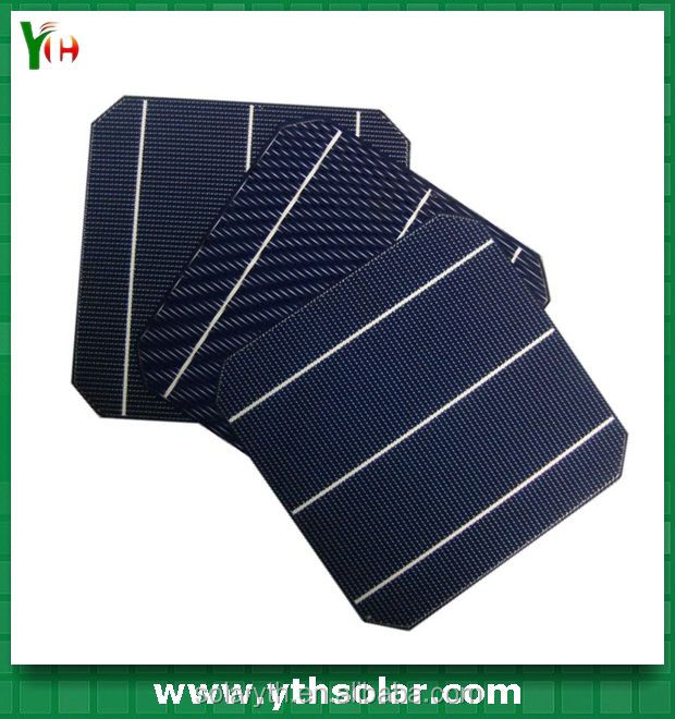 High Efficiency 156 x 156mm MONO crystalline silicon solar cell with superior quality