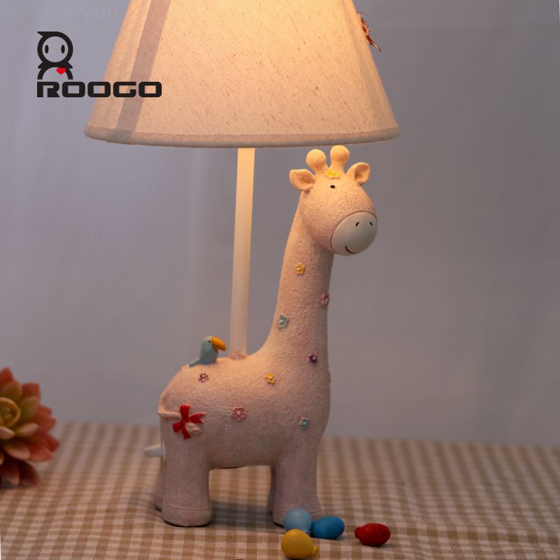 ROOGO Living room decoration Lights Indoor study kids animal table Lamp buy