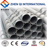 HOT DIP GALVANIZED STEEL PIPE FOR WATER GAS OIL TRANSPORTATION
