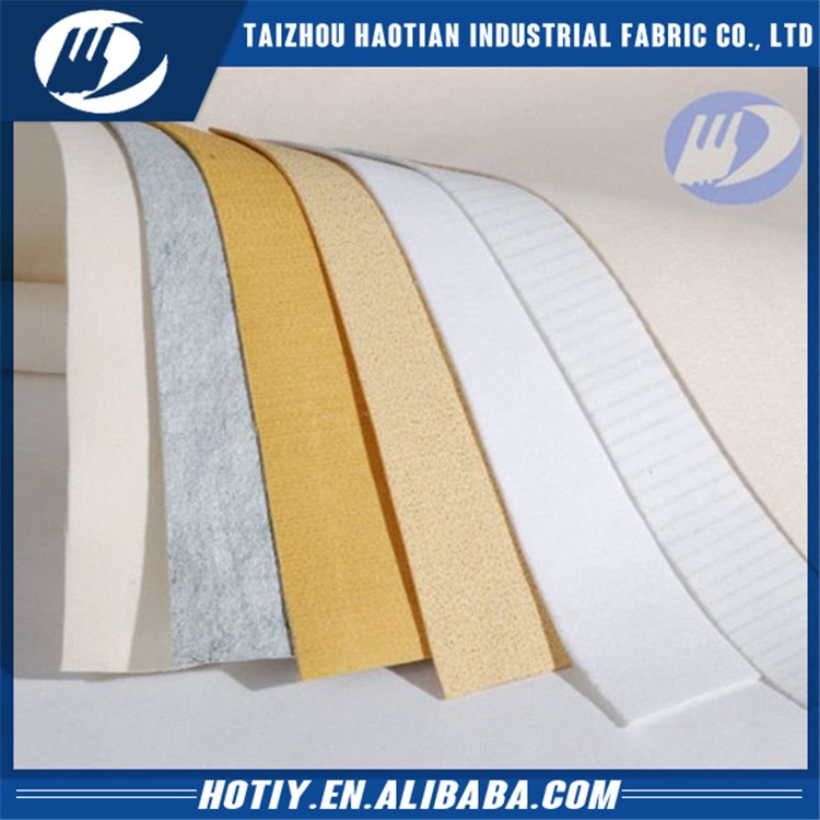 Factory supply attractive price polyester anti-static needle punched felt(yarn) for bag filter