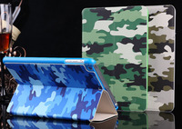 Superior Quality Camouflage Smart Leather Cover Case for iPad Air