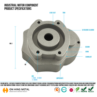 china supplier Professional Injection Zamak Die Casting Products