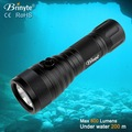 DIV03 wholesales AA battery portable led torch diving