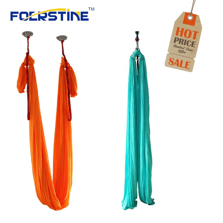 OEM High-Strength Gym Exercise Durable Soft Air Flying Antigravity Aerial Yoga Hammock
