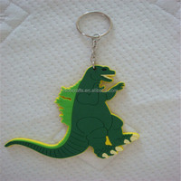 China Hot Sales gift metal+pvc key chain for decoration and promotional gifts by OEM