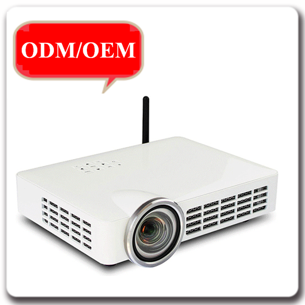 Professional Home cinema 1280*800p DLP 5000 lumens 3D wireless projector