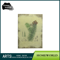 2016 New natural plant oli painting canvas