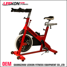 OEM/ODM manufacturer wholesale red color 20kg flywheel cardio equipment commercial spin bike