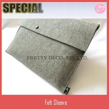 Felt laptop sleeve for Dell,HP and others,13 inch
