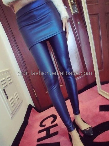 faux leather women leggings