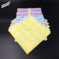 1028 dyed printed disposable spunlace cleaning wipes kitchen mesh cleaning wipes disposable towels