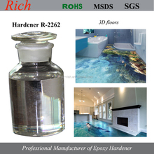 Epoxy Curing agent R-2262 for 3D floors