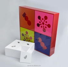 customized elegant acrylic tender box