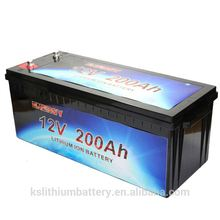 Low price lithium ion battery 12v 200ah solar energy storage