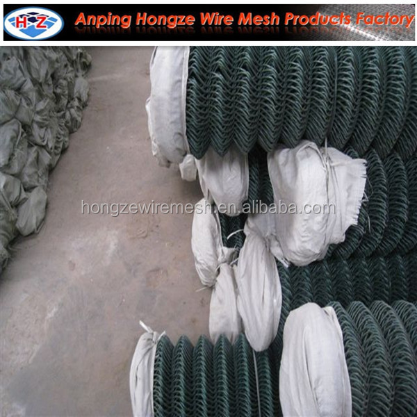 9 gauge \ 6x6 portable cheap pvc coated & galvanized chain link fence panel