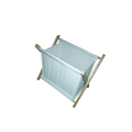 Folding Laundry Clothes Hamper Sorter Basket Bin fabric Laundry Basket