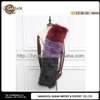 Luxury Autumn Winter Genuine Multi Colored