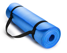 Fitness Print NBR Exercise Yoga Mat Extra Thick NBR foam Yoga Mat