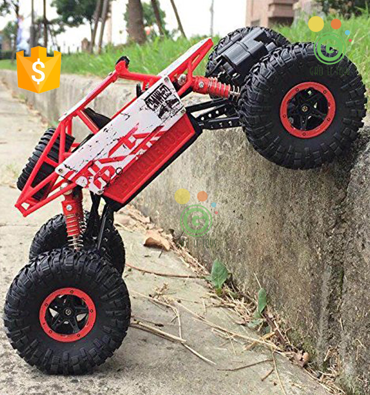 RC Rock Crawler Monster Truck 4WD Off Road Vehicle 2.4Ghz Batteries Included