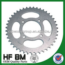 Chain and Sprocket YBR125 ,Motorcycle Chain and Sprocket High Quality