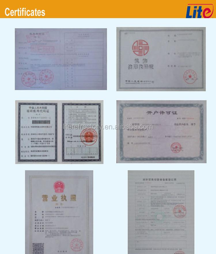 1260c High Temperature Ceramic Fiber Products Including