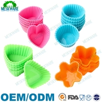 Kichen baking accessories muffin cases baking cups silicone cupcake liners