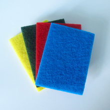 JiangSu factory wholesale kitchen cleaning sponge scouring pad material
