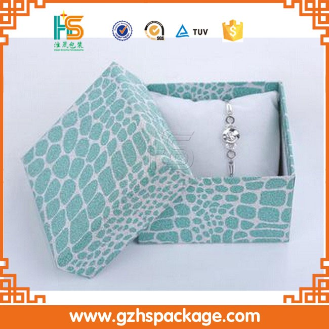 paper jewelry gift box cardboard jewellery packaging box (775)