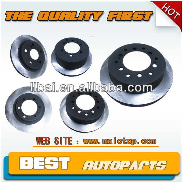 Toyota brake disc auto spares parts