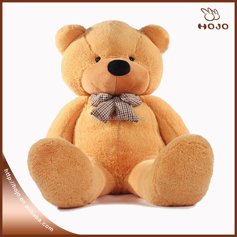 Promotion gift good quanlity 200cm Giant Teddy Bear plush toys multicolor