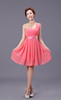 Chiffon Bridesmaid Formal Gown Evening Ball Party Cocktail Prom Dress