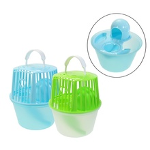 Brand New Small Animal Accessory PP Plastic Portable Custom Luxury Hamster Cage