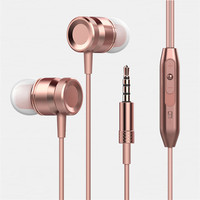 Factory Hot Selling In Ear Super Bass Headphone Earphone,Wired With Mic Music Smart Headset For iPhone Earphone