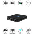 QINTAIX Q28 RK3328 android7.1 tv box 2gb ram quad core CPU Multi-Media 4K VP9 and 4K 10bits H265/H264 video decode, up to 60fps