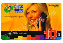 Top quality updated prepaid paper voucher card