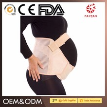 2017 new design breathable medical support post pregnancy belly belt for women