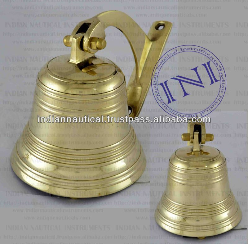 Small Brass Ship Bell, Nautical Antique Brass Ship Bell, Smart Marine Ship Bell