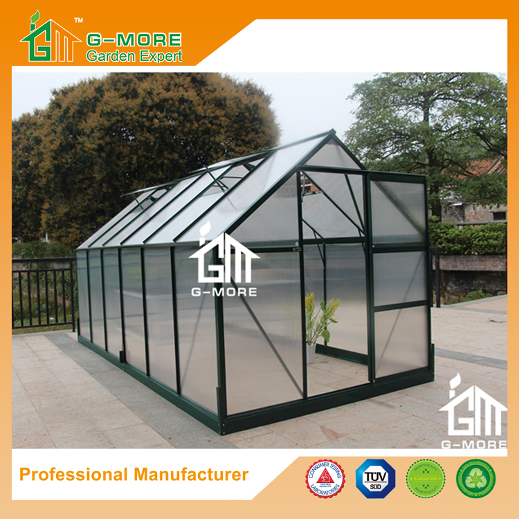 G-MORE Wholesales Popular Series Promotional Aluminum Hobby Greenhouse(GM31026-G)