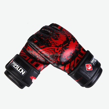customize print logo kick boxing glove gym punching fighting mma glove