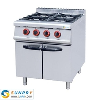 Heavy duty gas range cooker with gas cooker parts (SUNRRY SY-GB700A)