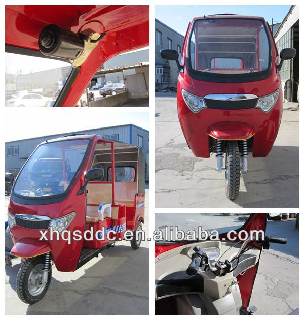 passenger adults electric tricycle Eco friendly auto battery rickshaw